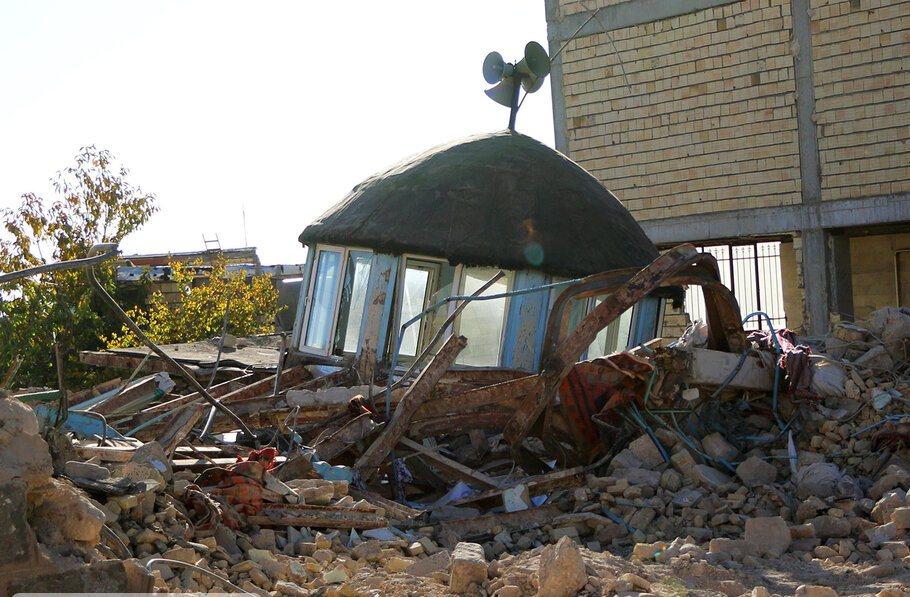بازسازی مساجد زلزله زده آذربایجانشرقی
