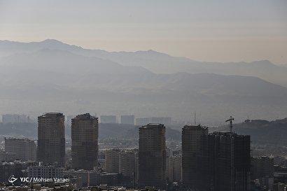 آلودگی هوای تهران/ ۲۲ آبان ۹۸