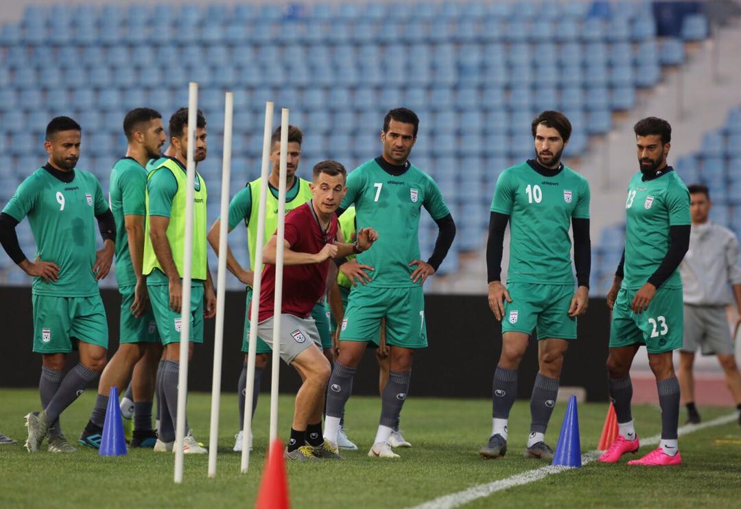 آخرین تمرین تیم ملی فوتبال ایران پیش از دیدار با عراق