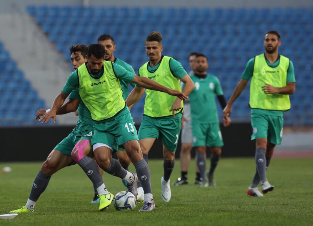 گزارش تصویری از تمرین تیم ملی فوتبال