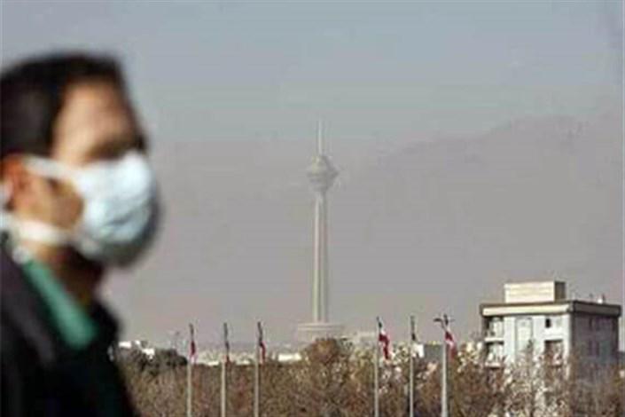 هوای تهران ناسالم برای تمام گروهها