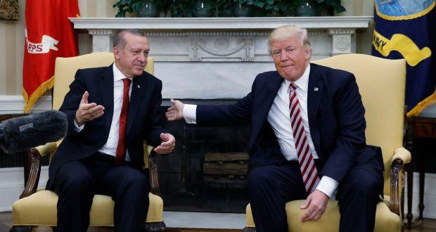 ترامپ: ترکیه شریک راهبردی ماست/ اردوغان: منطقه امن شمال سوریه باید تحت کنترل ما باشد