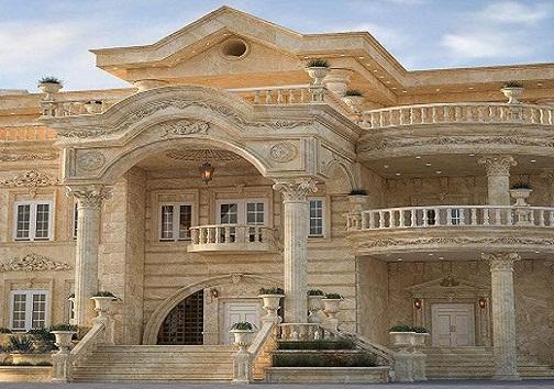 سایه سنگین ستون های رومی برمعماری ایرانی/ ستون های رومی خانه های ایرانی