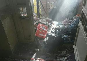 باشگاه خبرنگاران -وقوع آتش سوزی در منزل مسکونی