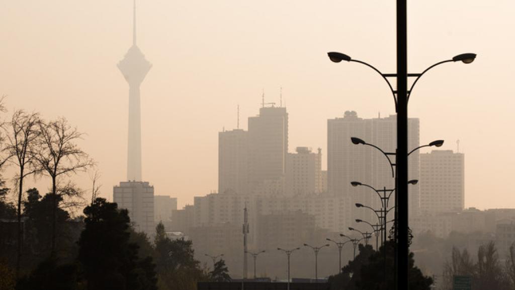 هوای تهران به وضعیت قرمز رسید