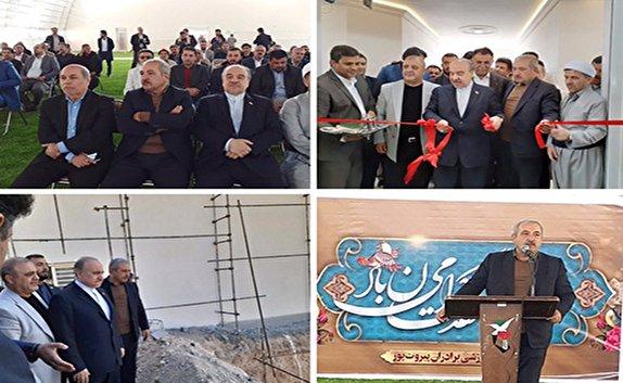 باشگاه خبرنگاران -افتتاح یک مجموعه ورزشی جدید در مهاباد