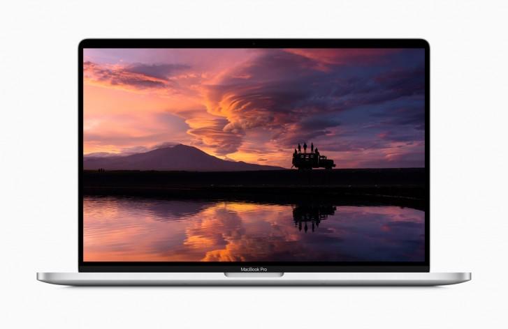 مکبوک پرو ۱۶ اینچی اپل با کیبورد جدید رونمایی شد