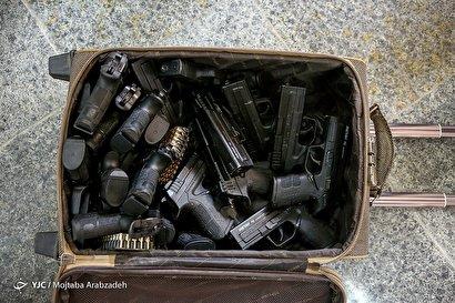 دستگیری قاچاقچی اسلحه