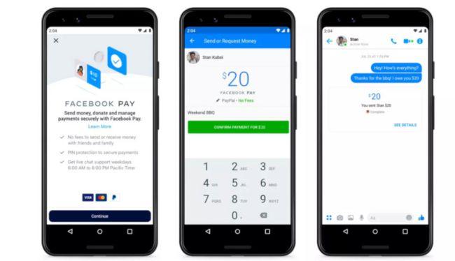 روش جدید پرداخت در فیسبوک و شرکتهای زیرمجموعه آن با Facebook Pay