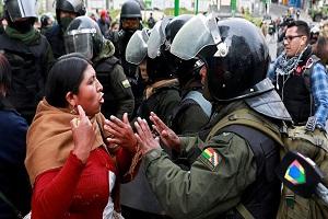 رئیسجمهور خودخوانده بولیوی انتصاب وزرا را آغاز کرد