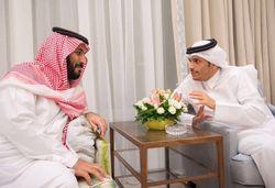 پشتپرده تصویر جنجالی ولیعهد عربستان در کنار وزیر خارجه قطر + عکس