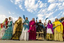 جشنواره رنگها در عروسی بختیاری