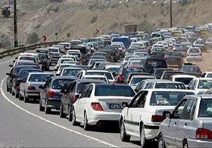 افزایش ۱.۶ درصد تردد جاده ای نسبت به روز گذشته