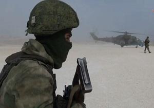 هلیبرن نیروهای روسیه در پایگاه نظامی سابق آمریکا در شمال سوریه