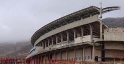 ورزشگاه ۱۵ هزار نفری زنجان در انتظار تکمیل