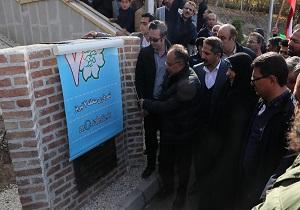 افتتاح باغ خانواده در محله رواسان تبریز