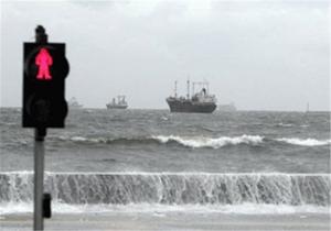 دریای خزر تا دوشنبه مواج است