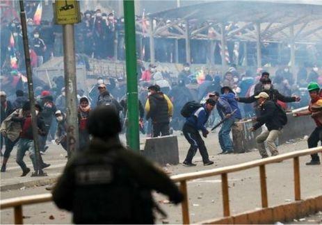 ۵ کشاورز طرفدار مورالس در بولیوی کشته شدند