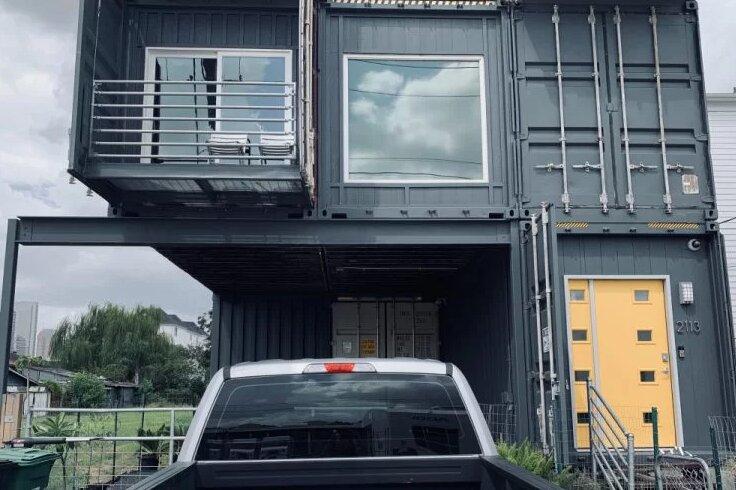 ساخت خانه رویایی با کانتینر