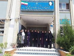 دریافت گواهینامه کیفیت سازمان ملی استاندارد ایران برای هنرستان کیومرث صابری