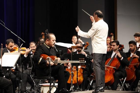 ارکستر ملی ایران آثار کیوان ساکت را نواخت