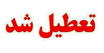 مدارس مناطق ۱ تا ۵ و ۲۲ تهران در نوبت عصر تعطیل شد