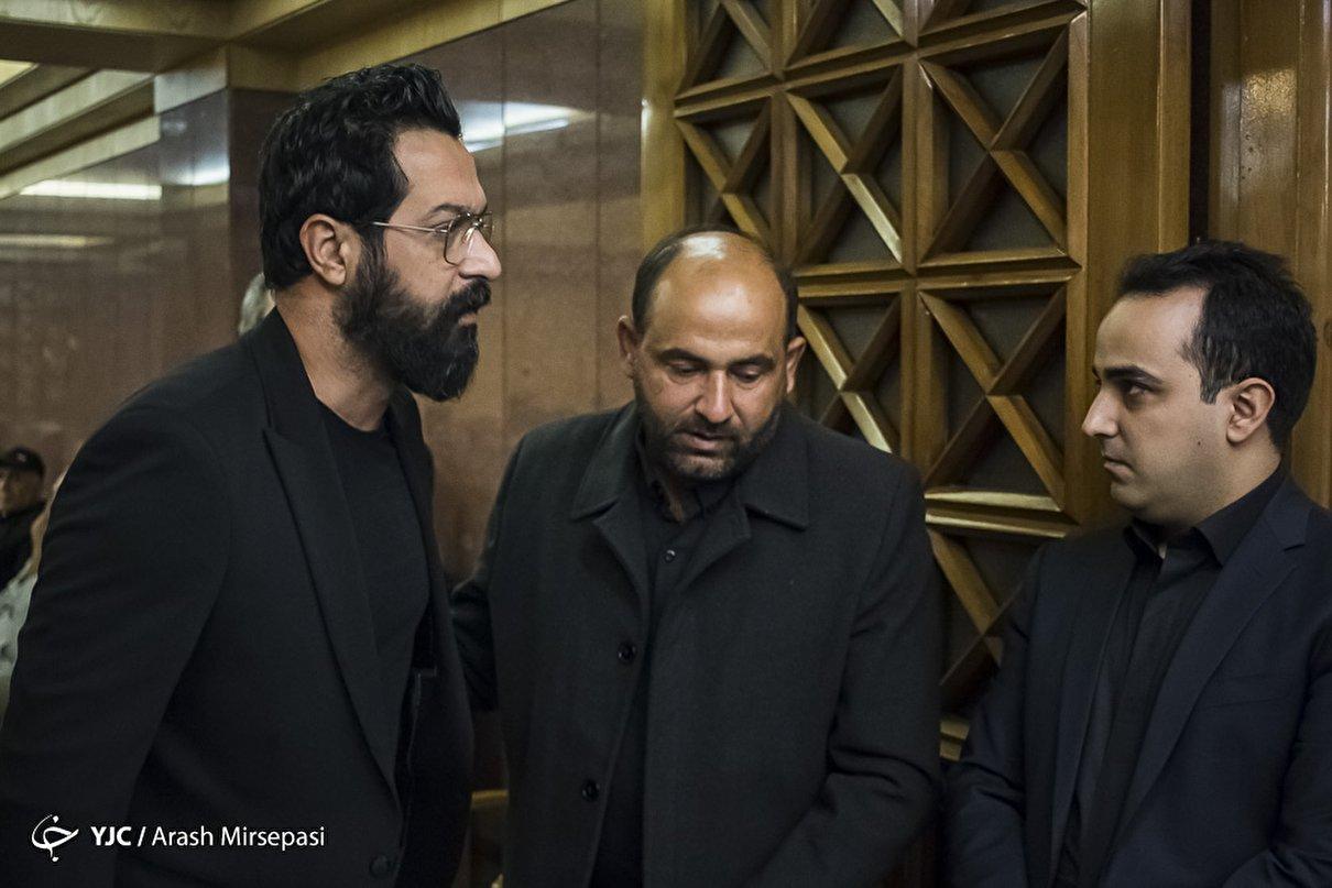 مراسم ترحیم مجید اوجی