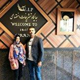 واکنش همسر استراماچونی به برف تهران + فیلم