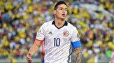 ستاره فوتبال کلمبیا خانه نشین شد