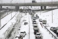 امروز خیابانهای کدام شهرهای کشور شلوغ شد؟/تهران را برف غافلگیر کرد! + فیلم