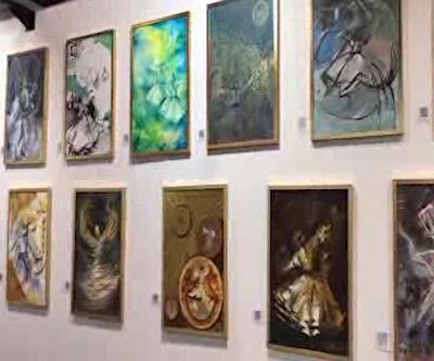 نمایش آثار نقاشان ایرانی در ایتالیا + فیلم
