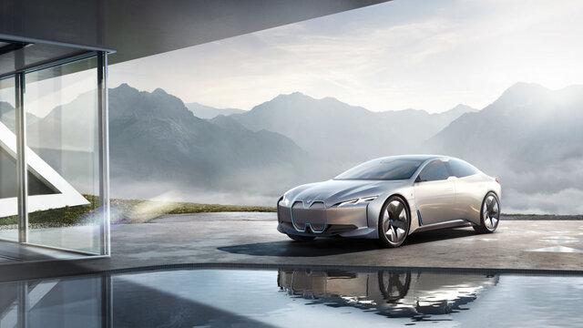 نگاهی به BMW i ۴؛ رقیب قدرتمند تسلا