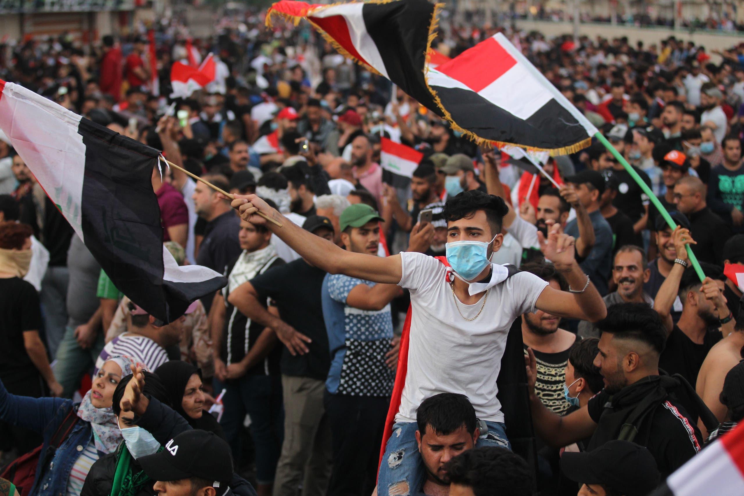 وزیر دفاع عراق: ۲۰۰ فرد مسلح در تظاهرات بازداشت شدند