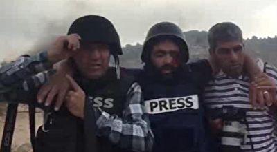 زخمی شدن یک خبرنگار از ناحیه چشم توسط نظامیان رژیم صهیونیستی + فیلم