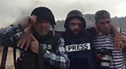 باشگاه خبرنگاران - زخمی شدن یک خبرنگار از ناحیه چشم توسط نظامیان رژیم صهیونیستی + فیلم