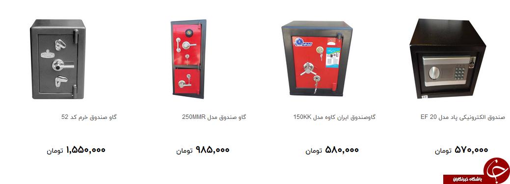 برای خرید گاوصندوق چقدر هزینه کنیم؟ + قیمت
