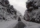 باشگاه خبرنگاران -تداوم بارندگی در مناطق کوهستانی / استقرار ماشین های راهداری در جاده های کوهستانی