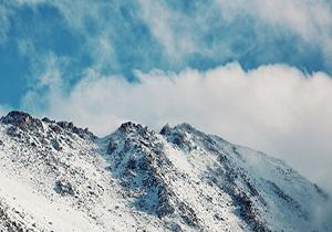 تداوم بارش برف در چهارمحال و بختیاری