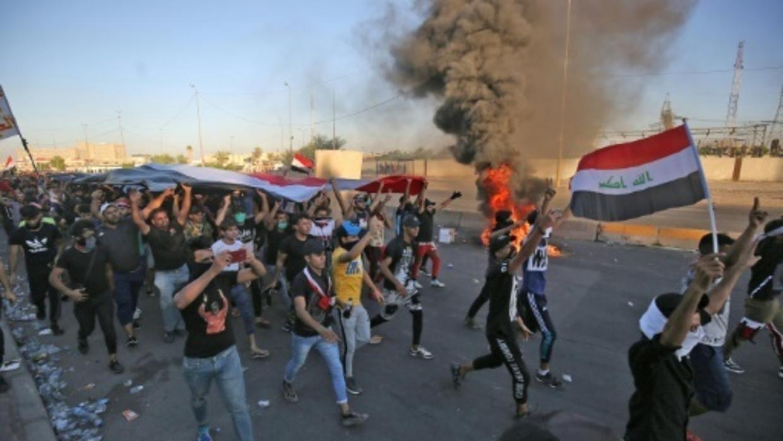 نتیجه ۲ هفته آشوب در عراق + فیلم///