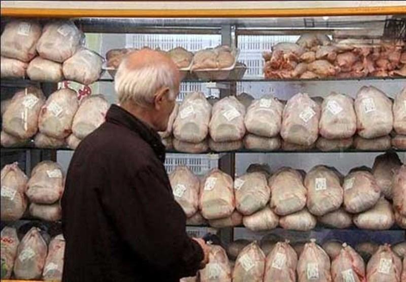 روز/ اختلاف ۳۰۰ تا ۵۰۰ تومانی قیمت مرغ با نرخ مصوب تنظیم بازار/حداکثر قیمت هر کیلو مرغ ۱۳ هزار و ۲۰۰ تومان است