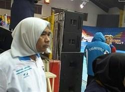حضور یک مهمان جنجالی در رقابتهای جام جهانی کبدی/  مرد روسری به سر بازگشت! + تصاویر