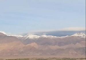 کوههای برف گرفته شاهرود در قاب دوربین / وضع نامناسب معابر در مسکن مهر آبادان  + فیلم و تصاویر