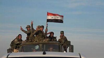 ورود ارتش سوریه به مثلث مرزی با ترکیه و عراق + فیلم