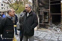 باشگاه خبرنگاران - تخریب اموال عمومی توسط آشوبگران