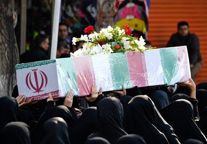 مراسم تشییع پیکر شهید نیروی انتظامی روز دوشنبه در کرمانشاه برگزار میشود