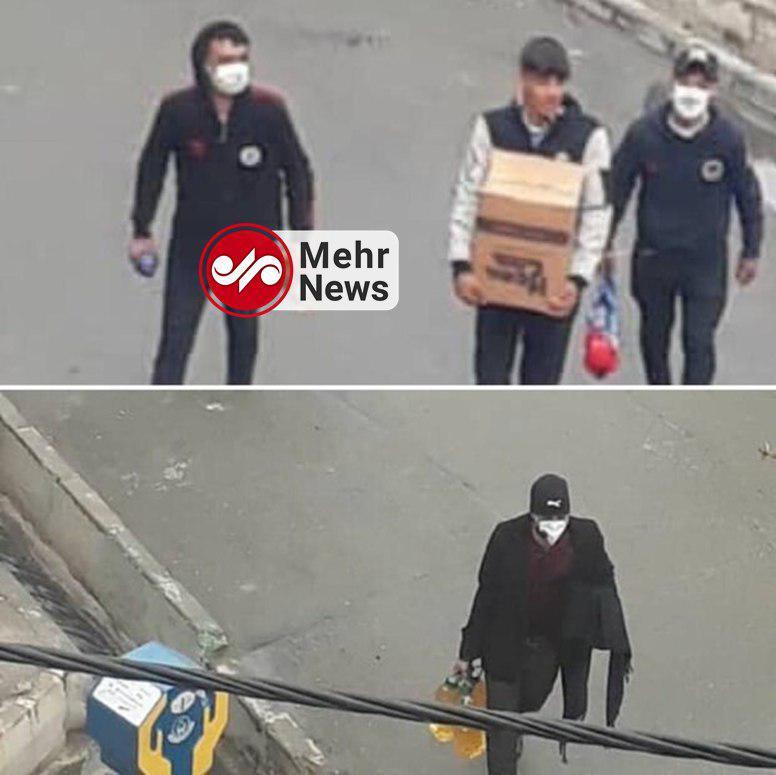 روایت شاهدان عینی از تحرکات مشکوک در اعتراضات بنزینی/ این رفتارها کار مردم عادی نیست + تصاویر