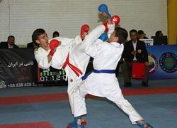 کاراته کاهای زنجانی در لیگ کاراته وان خوش درخشیدند