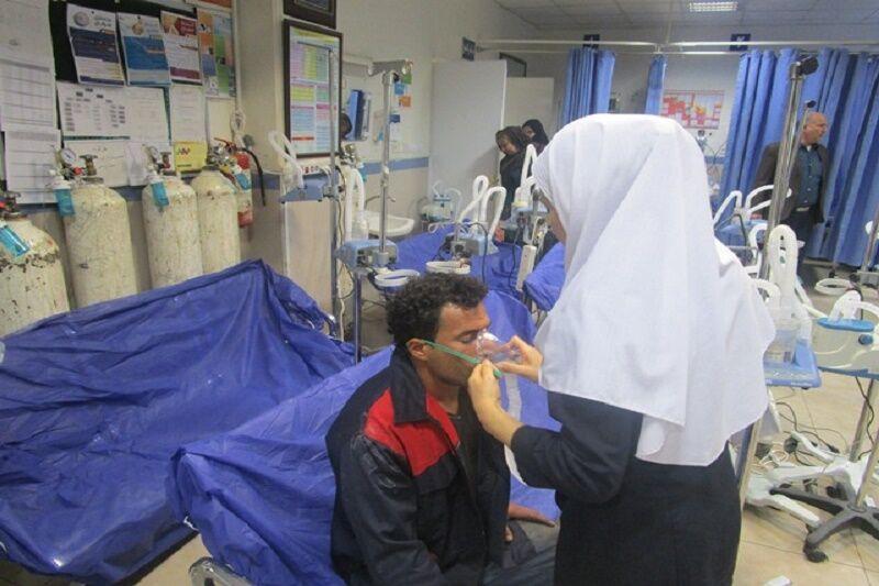 عارضه تنفسی به دنبال بارندگی در اهواز/ ۱۰۰۰ نفر راهی بیمارستان شدند