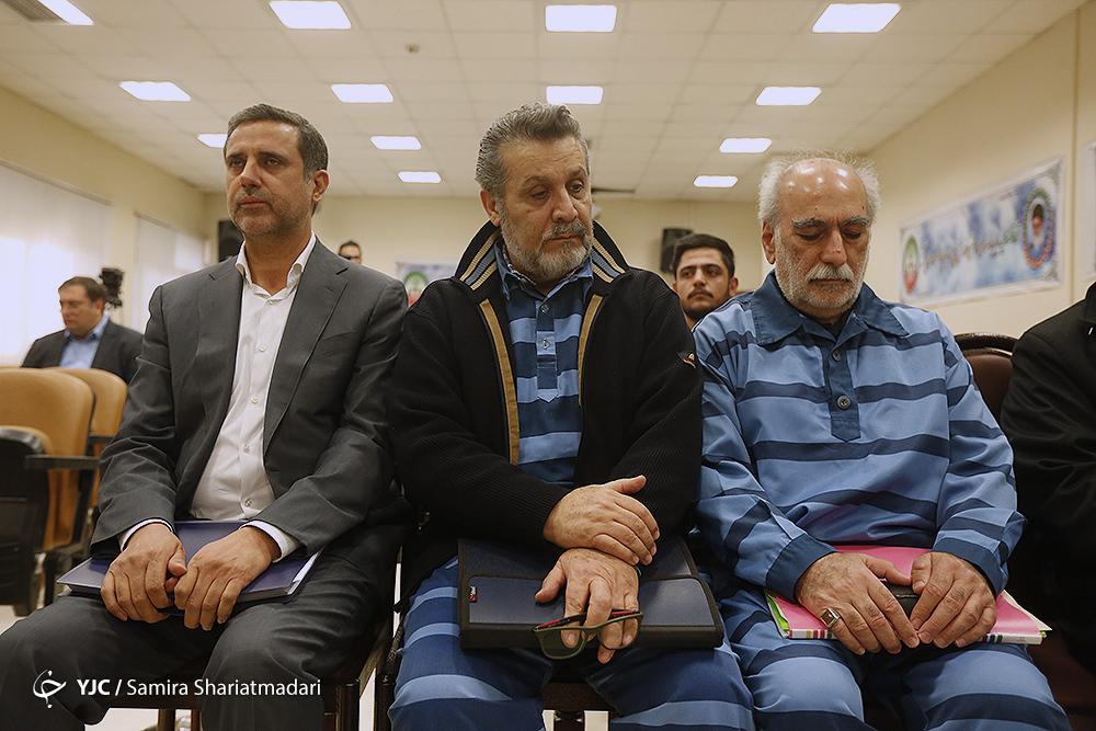 دهمین جلسه رسیدگی به پرونده اتهامات فساد در بانک ملت و پارسیان