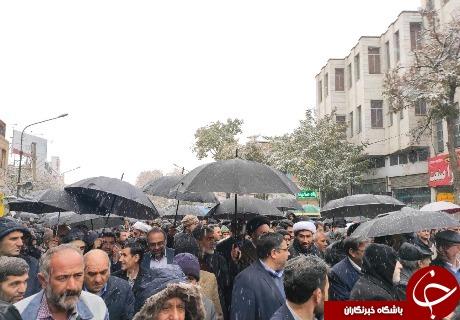 حمایت مردم زنجان از مواضع مقام معظم رهبری